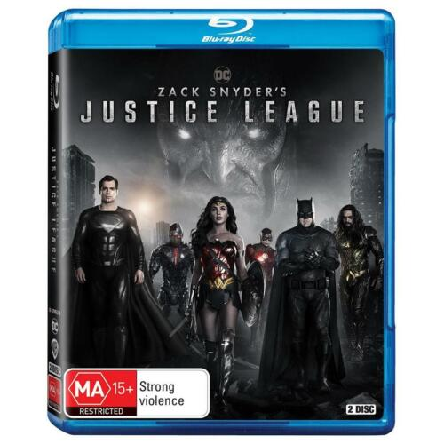Zack Snyder's JUSTICE LEAGUE : NEW Blu-Ray