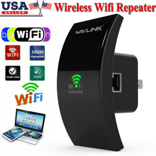 Wifi Range Extender Internet Signal Booster Router Wireless Enhancer Repeater US