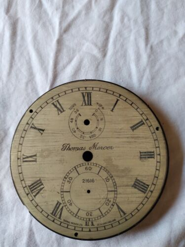 T Mercer Marine Chronometer Parts only and Wooden Boxes