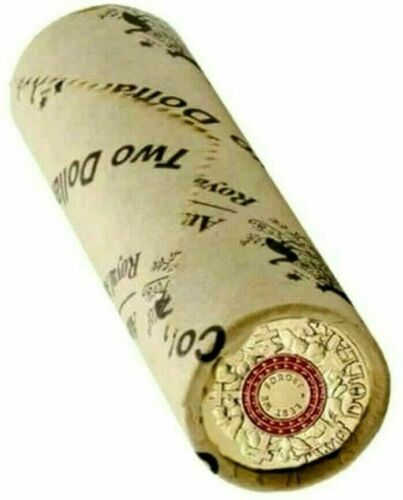 2015 Australia $2 Red ANZAC Lest We Forget RAM Roll of 25 Coins H/T