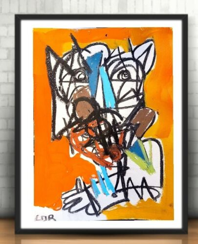 EXPRESSIONIST ART PAINTING 12X9 ORIGINAL STILL LIFE CONTEMPORARY COLLECTIBLE ART