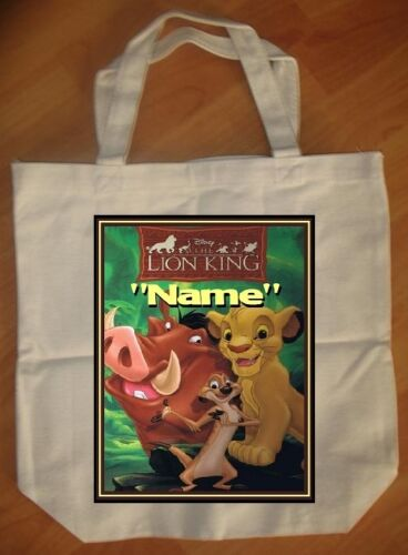 """""""Lion King"""" Personalized Tote Bag - NEW"""