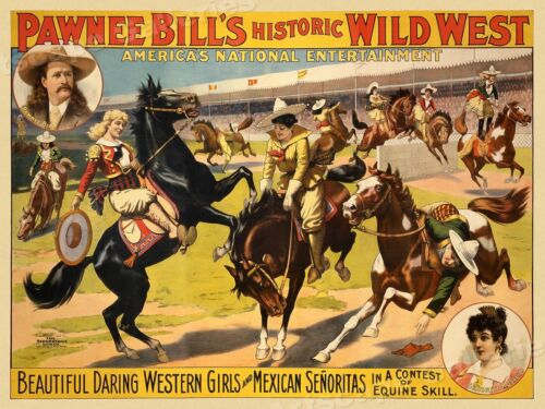 Days of the Golden West Rodeo 1930s Vintage Style Rodeo Poster 20x30