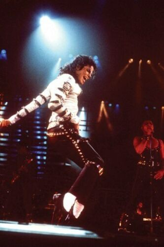 MICHAEL JACKSON POSTER Live in Concert RARE HOT NEW 5
