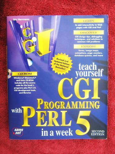 TEACH  YOURSELF  CGI  PROGRAMMING  WITH  PERL  5