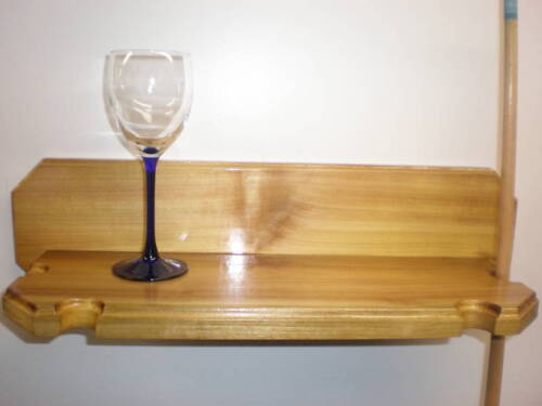 Pool Cue/Drink Holder Popular Wood
