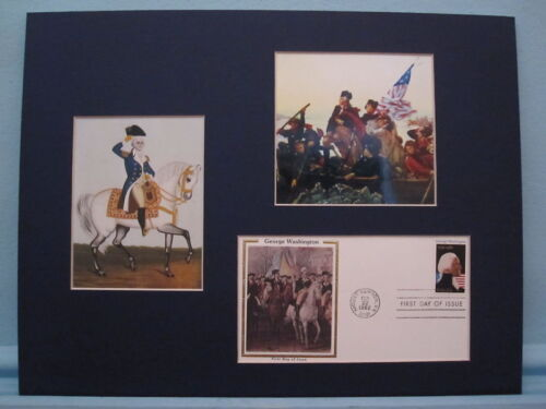 Washington Crosses the Delaware & First day CoverReenactment & Reproductions - 156378