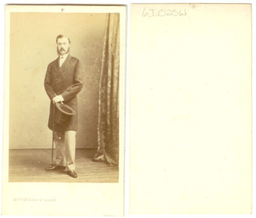MAN WITH TOP HAT CDV
