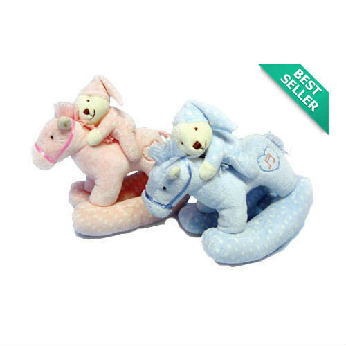 New Korimco Twinkles Musical Rocking Horse Baby Toy