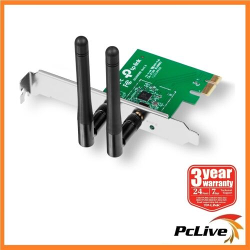 TP-Link TL-WN881ND 300Mbps Wireless N PCI-Express Network Card Low Profile MIMO