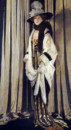 Mrs. St. George by Sir William Orpen Open Edition Victorian Era Woman