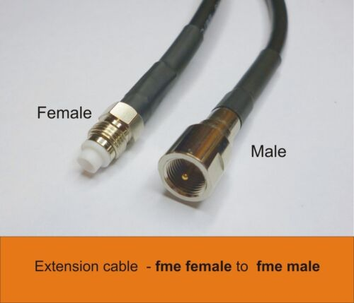 Extension cable fme male  to fme female  10m coax