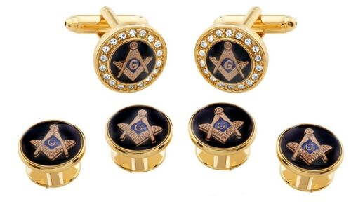 MASONIC CUFFLINKS AND STUDS !!MANUFACTURERS DIRECT PRICING!!
