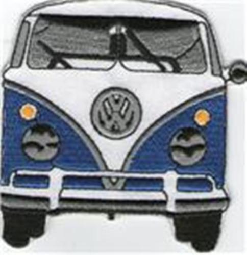 VW BLUE KOMBI [front]  IRON ON PATCH BUY 2 GET 1 FREE
