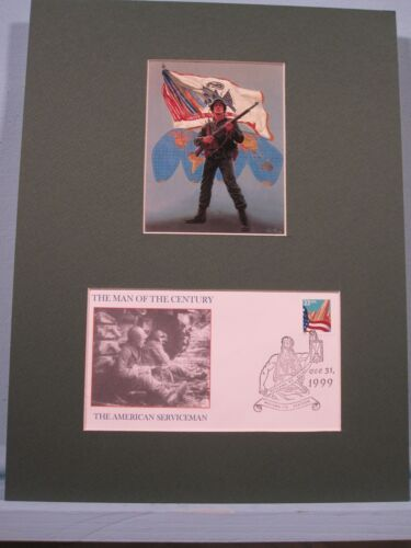 The American Serviceman as The Man of the Century & Commemorative Cover  Reproductions - 156452
