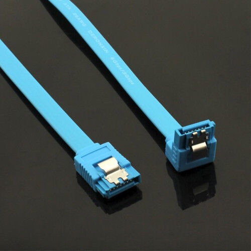 SATA 3 6Gb/s Data Cable 50cm Straight Right Angle
