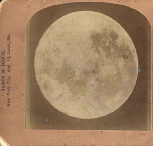 STEREOVIEW OF THE MOON 1895