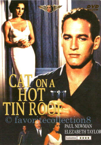 Cat on a Hot Tin Roof (1958) - Elizabeth Taylor, Paul Newman - DVD NEW