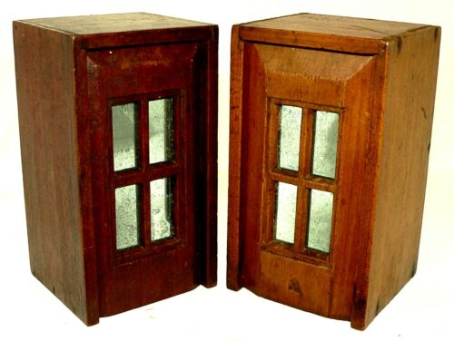 2 19th c document boxes, ditty box, slide lid,  walnut, pine, Cape Cod,MA, 7""