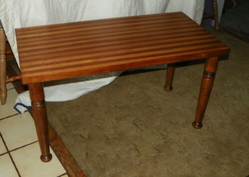 Cherry and Oak Mid Century Modern Coffee Table  (CT52)