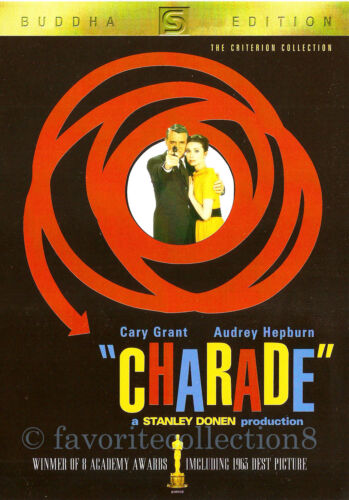 Charade (1963) - Cary Grant, Audrey Hepburn - DVD NEW