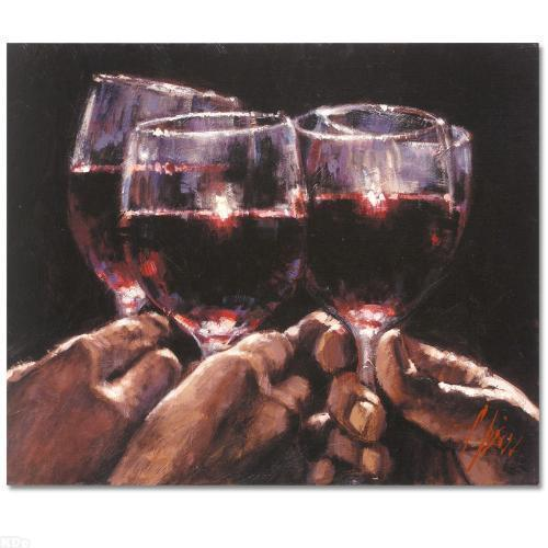 """Fabian Perez      """"'Study for a Better Life IV""""    MAKE  OFFER"""