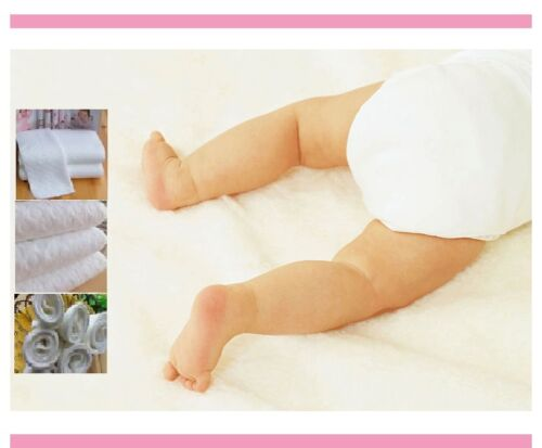 3x cotton inserts liners for reusable Modern Cloth Nappies Love & care for baby <br/> Don't forget to ask for free gift. No minimum spent.