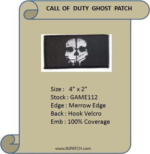 CALL OF DUTY GHOST UNIFORM PATCH - GAME112