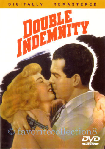Double Indemnity (1944) - Fred MacMurray, Barbara Stanwyck - DVD NEW