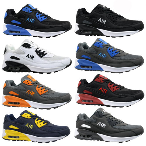 MENS SHOCK ABSORBING RUNNING TRAINERS CASUAL LACE GYM WALKING SPORTS SHOES SIZE <br/> XMAS SPECIAL OFFER***DO NOT MISS***RRP £24.95