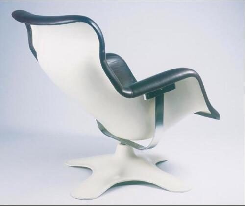 KARUSELLI lounge chair, original (Avarte) handmade in Finland