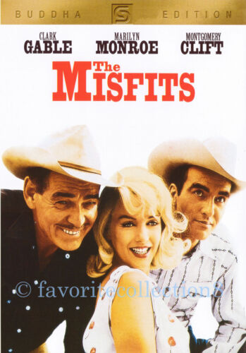 The Misfits (1961) - Clark Gable, Marilyn Monroe - DVD NEW