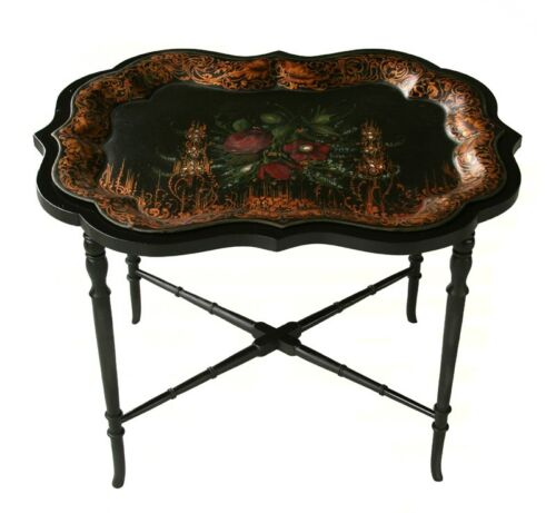 Tole Tray Table/Coffee Table