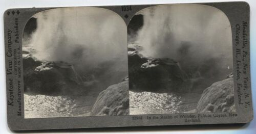 ANTIQUE PHOTO NEW ZEALAND, STEREOVIEW