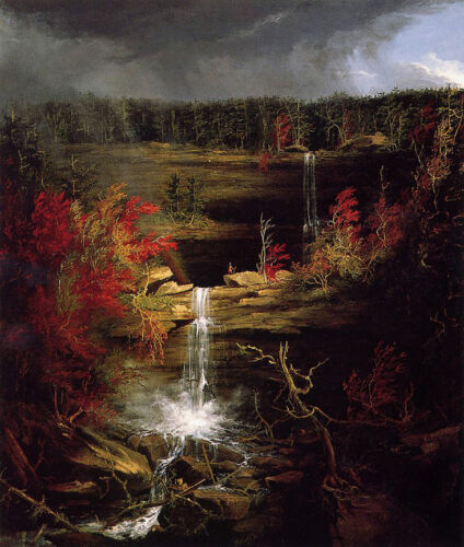 Falls of Kaaterskill   by Thomas Cole   Giclee Canvas Print Repro