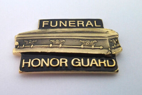 BRAND NEW Lapel Pin HONOR GUARD Red White Blue Enamel 1 1//8/""