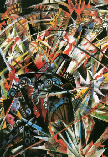 The Cannon  by Otto Dix   Giclee Canvas Print Repro