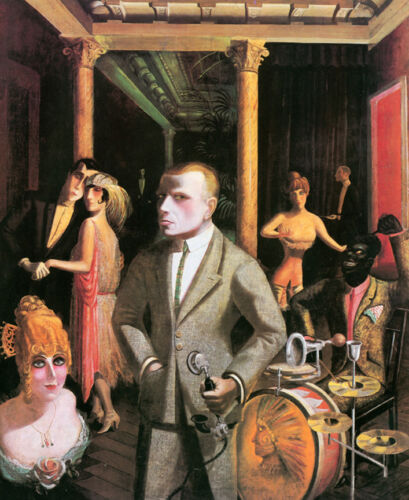 To Beauty  by Otto Dix   Giclee Canvas Print Repro