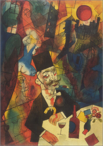 The White Slaver   by George Grosz  Giclee Canvas Print Repro