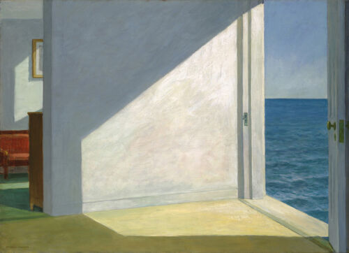 Room by the Sea  by Edward Hopper   Giclee Canvas Print Repro