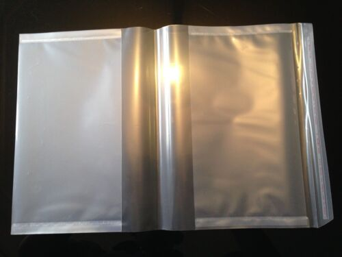 Magazine/Book Covers A4 CLEAR Self adhesive Pack of 5