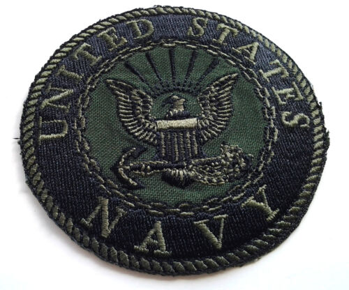 UNITED STATES NAVY SUBDUED Military Biker Patch PM0896 EE TNavy - 48826