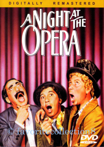 A Night at the Opera (1935) - The Marx Brothers - DVD NEW