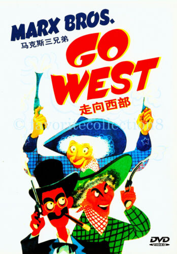 Go West (1940) - The Marx Brothers - DVD NEW