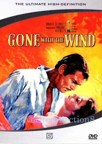 Gone with the Wind (1939) - Clark Gable, Vivien Leigh - DVD NEW