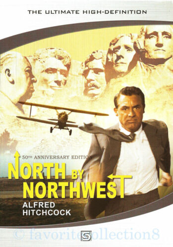 North by Northwest (1959) - Alfred Hitchcock, Cary Grant - DVD NEW