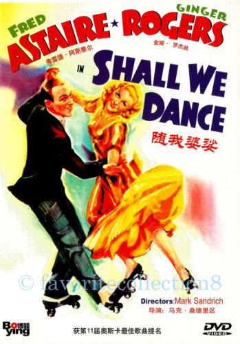 Shall We Dance (1937) - Fred Astaire, Ginger Rogers - DVD NEW