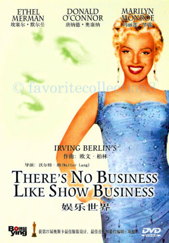 There's No Business Like Show Business (1954) - Marilyn Monroe - DVD NEW