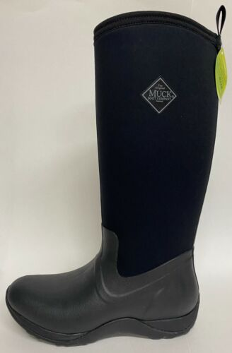 NEW Muck Black Arctic Adventure Womens Snow Extreme Winter Boots 6,7,8,9,10,11