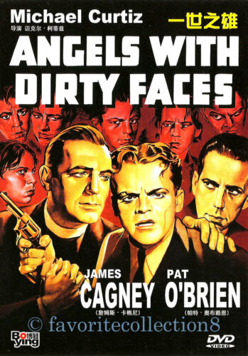 Angels with Dirty Faces (1938) - Humphrey Bogart, James Cagney - DVD NEW